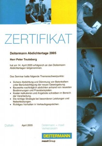 Deitermann Abdichtertage 2005